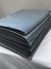 10 PIECES Clearance (1/2 Metre) Silk Touch 4 Way Stretch Lycra Fabric Job Lot Bundle- Dark Grey JBL131 DKGR