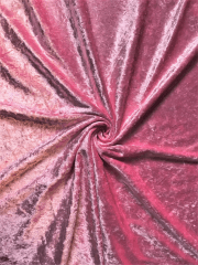 Crushed Velvet/Velour Stretch Material- Candy Pink Q156 CPN