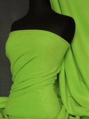 Polar Fleece Anti Pill Washable Soft Fabric- Pea Green PF PGR