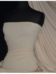 Matt Lycra 4 Way Stretch Fabric- Natural Stone Q56 NSTN