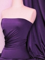 Shiny Lycra 4 Way Stretch Material- Twilight Purple Q54 TPPL