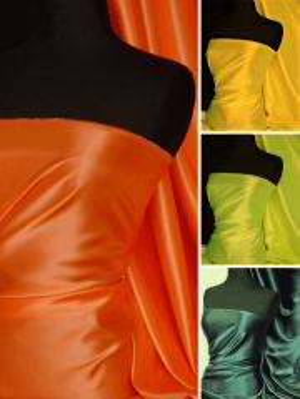 Classic Satin Non-Stretch Woven Fabric Material- SQ323