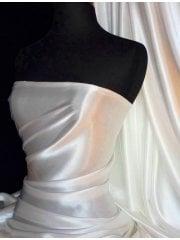 Super Soft Satin Fabric- Ivory Q710 IV