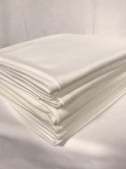 15 PIECES Clearance (1/2-1 Metre) Soft Touch 4 Way Stretch Lycra Fabric Job Lot Bundle- Ivory JBL381 IV