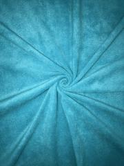 Polar Fleece Anti Pill Washable Soft Fabric- Blue Lagoon PF BL