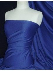 Ponte Double Knit Stretch Jersey Fabric- Catalina Blue Q37 CATBL