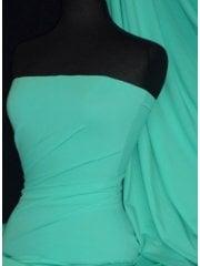 Matt Lycra 4 Way Stretch Fabric- Peppermint Q56 PMNT