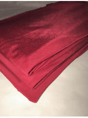 5 PIECES Clearance (1/2 Metre) Silk Touch 4 Way Stretch Lycra Fabric Job Lot Bundle- Red Wine JBL200 RDWN