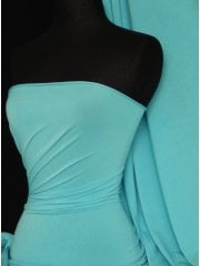 20 METRES Micro Lycra 4 Way Stretch Fabric Job Lot Bolt- Minty Blue JBL243 MNTBL