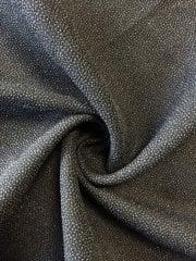 20 METRES 100% Polyester Textured Sheer Lightweight Fabric Job Lot Bolt- Black JBL266 BRN