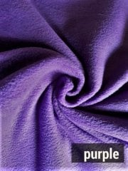 NEW Super Soft Polar Fleece Anti Pill Washable Fabric- Purple Grape PF GRP