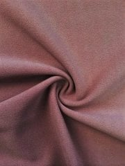 Scuba Stretch Poly Lycra Fabric- Rosewood Q792 RSWD