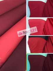 25 METRES Soft Touch 4 Way Stretch Lycra Fabric Wholesale Roll- Red Shades JBL332