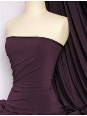 Soft Touch 4 Way Stretch Lycra Fabric- Plum Q36 PLM
