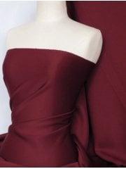 Scuba Stretch Poly Lycra Fabric- Cherry Red Q792 CHRD