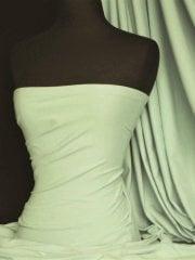 Scuba 4 Way Stretch Poly Lycra Fabric- Sage Q792 SGE