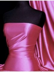 Super Soft Satin Fabric- Cerise Pink Q710 CRS