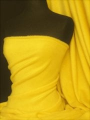 Polar Fleece Anti Pill Washable Soft Fabric- Yellow PF YL