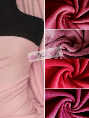 10 METRES Super Soft Polar Fleece Anti Pill Washable Fabric Wholesale- Red/Pink Shades JBL351