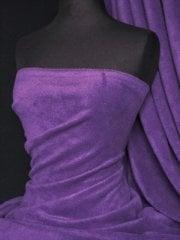 Polar Fleece Anti Pill Washable Soft Fabric- Purple PF PPL