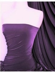 Silk Touch 4 Way Stretch Lycra Fabric- Light Aubergine Q53 LTAUB