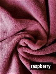 Super Soft Polar Fleece Anti Pill Washable Soft Fabric- Raspberry PF RSP