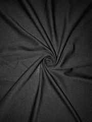 100% Polyester Stretch Semi Sheer Lining Material- Black SQ412 BK