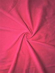 Clearance Poly Rib Knit Soft Lightweight Fabric- Hot Pink SQ401 HPN