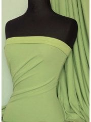 Morgan Crepe 4 Way Stretch Viscose Lycra Jersey- Lime Q238 LM
