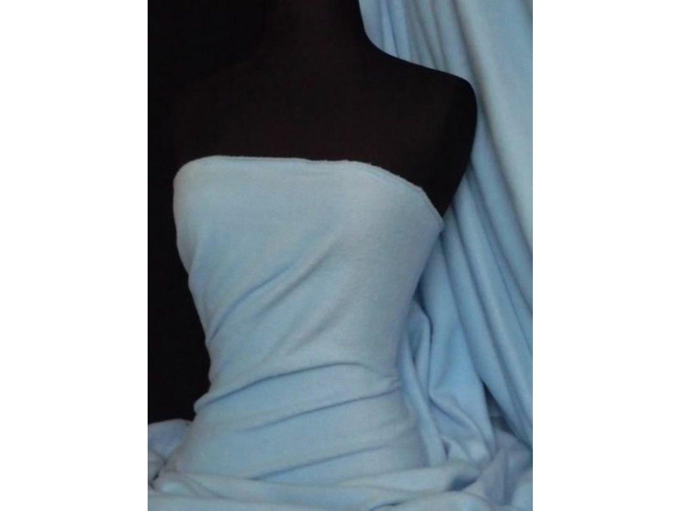 Polar Fleece Anti Pill Washable Soft Fabric- Baby Blue PF BBL