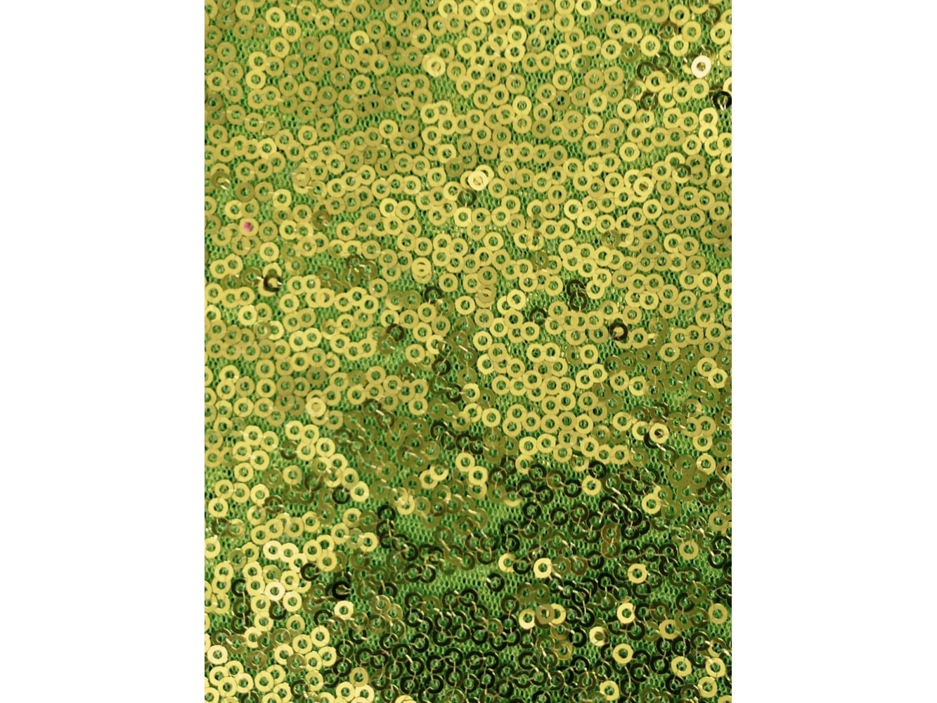 bbae7dd6 Showtime Fabric All Over Stitched 3mm Sequins - Lime SEQ53 LM