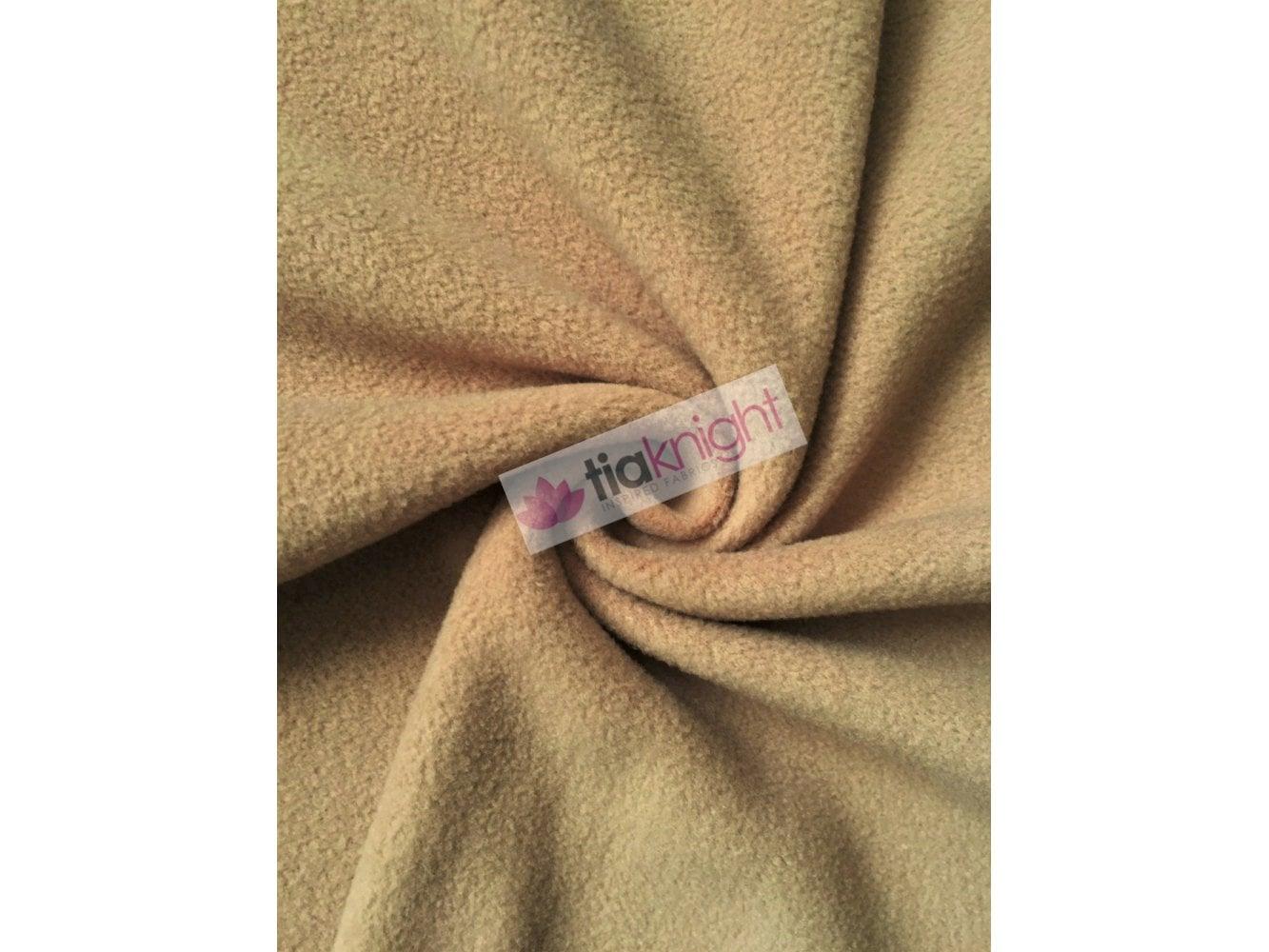 Anti-Pill Polar Fleece Soft Cuddly Washable Fabric- Black