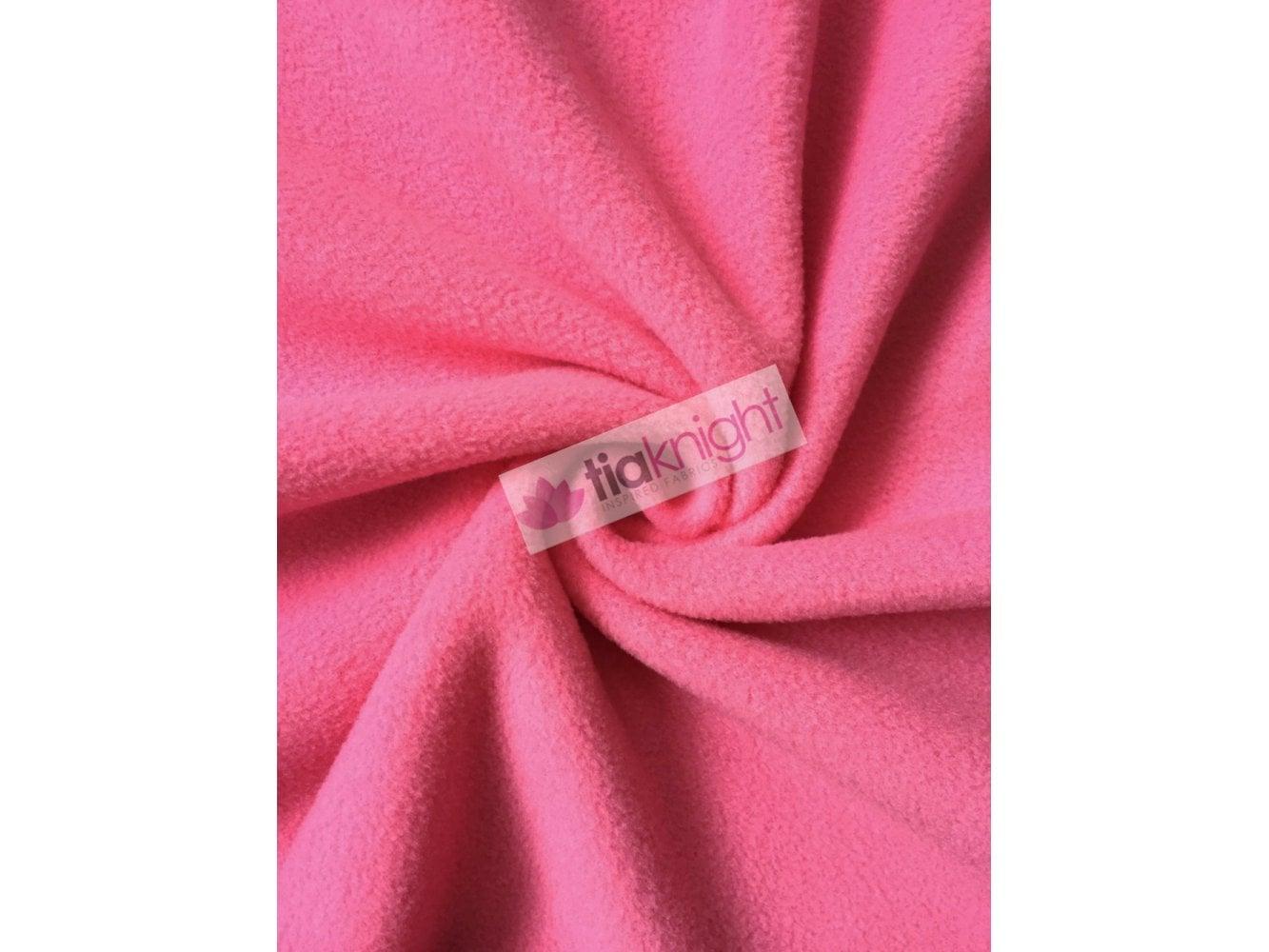 Polar Fleece Anti Pill Washable Soft Fabric- Orange