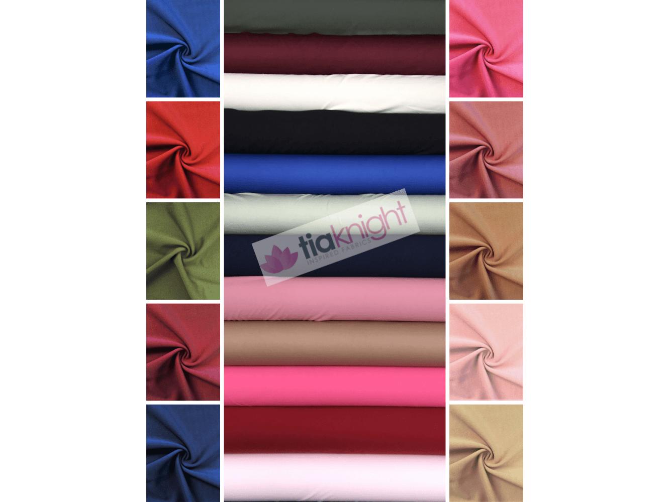 Premium Quality Stone Scuba 4 Way Stretch Lycra Jersey Spandex Stretch Fabric Material