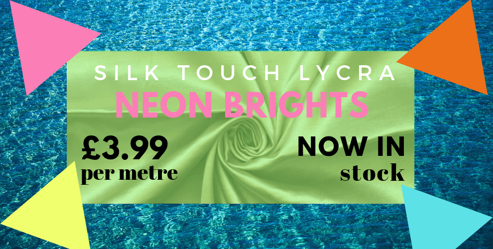 NEW Neon Brights in Silk Touch!