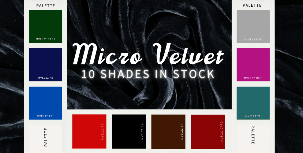 NEW Micro Velvet In Stock