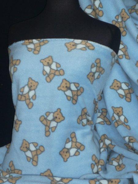 Marl Grey Polar fleece - anti pill washable soft fabric