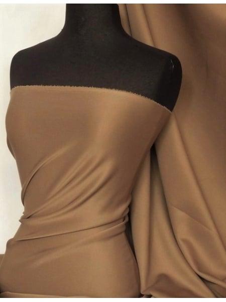 Scuba Stretch Poly Lycra Fabric- White Q792 WHT