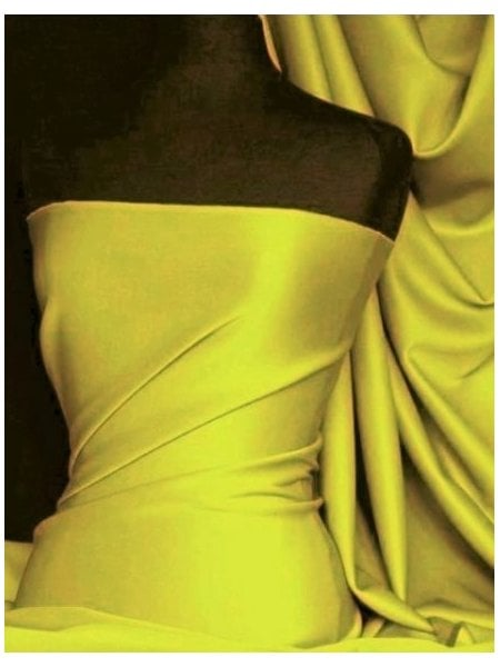 Scuba Stretch Poly Lycra Fabric- Stone Q792 STN