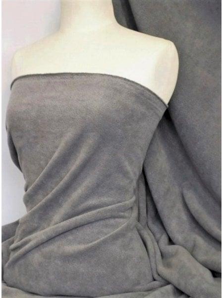Brown Tartan Polar Fleece- Anti Pill Washable Soft Fabric