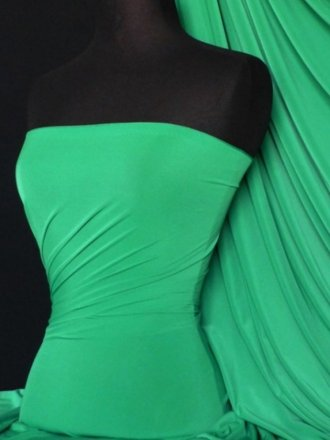 Soft Touch 4 Way Stretch Lycra Fabric- Jade Q36 JD END OF LINE DISCOUNTS