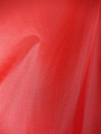 Ripstop 100% Nylon Fabric Material- Red SQ52 RD
