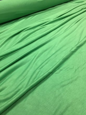 20 METRES 100% Viscose Stretch Lightweight Material Wholesale Roll- Spring Green JBL21 SPGR