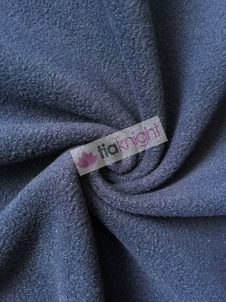 Anti-Pill Polar Fleece Soft Cuddly Washable Fabric- Navy PF-NEW NY