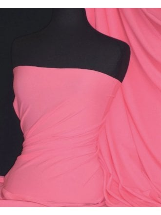 Matt Lycra 4 Way Stretch Fabric- Rose Pink Q56 RSPN