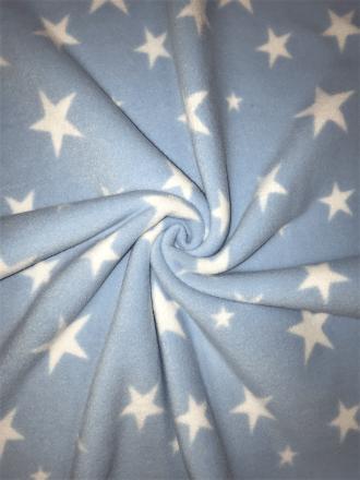 Polar Fleece Anti Pill Washable Soft Fabric- Powder Blue