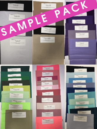 20 SAMPLE PACK- Silk Touch Stretch Jersey Lycra Fabric Q53