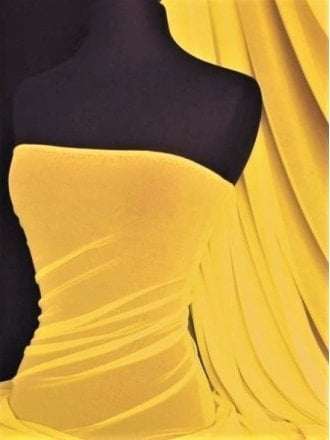 Clearance LT Power Mesh 4 Way Stretch Material- Bright Yellow 109 LT BTYL
