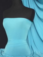 Silk Touch 4 Way Stretch Lycra Fabric- Turquoise Blue Q53 TQS