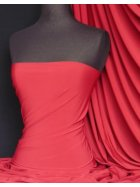 Soft Touch 4 Way Stretch Lycra Fabric- Red Q36 RD